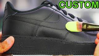 Custom AIR FORCE 1's!! 🎨🎨