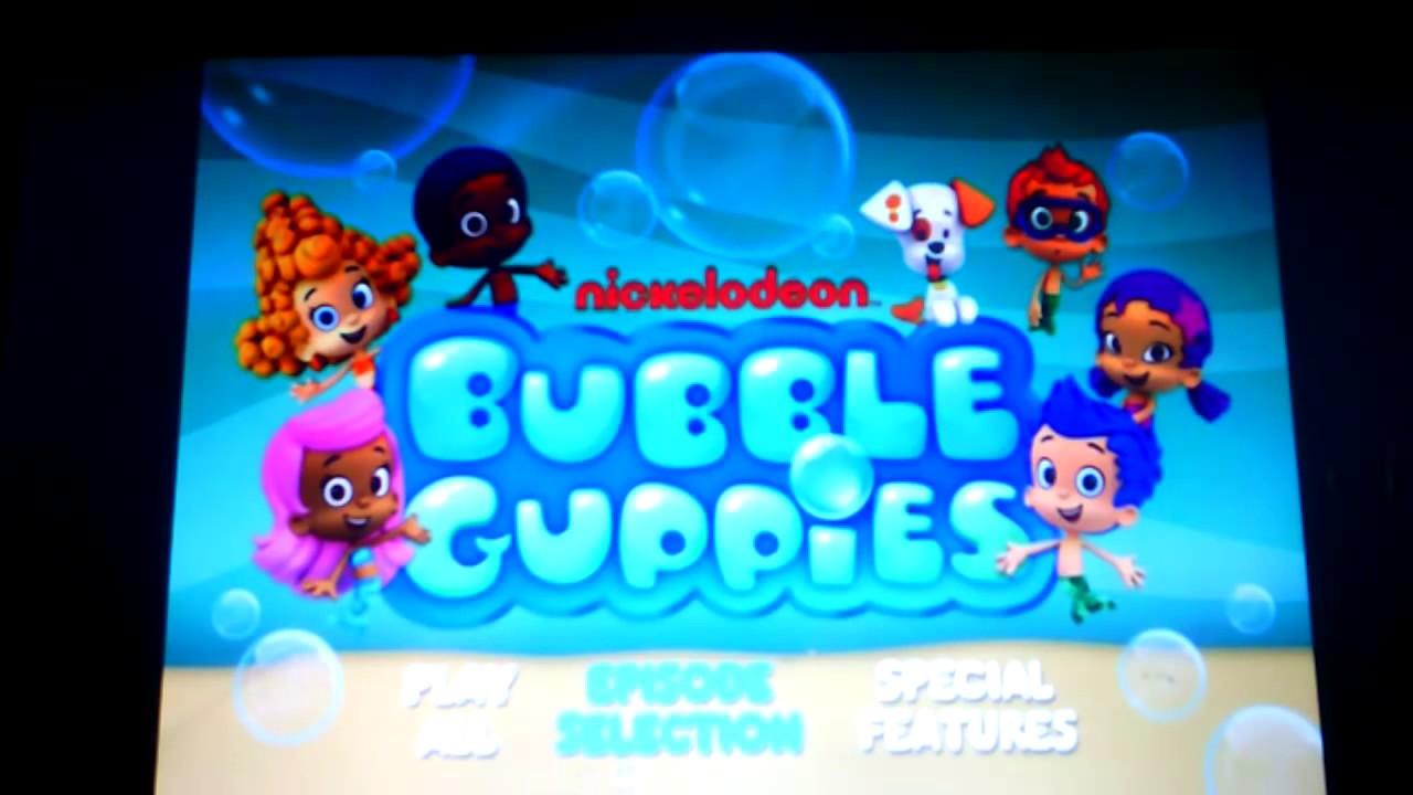 nickelodeon- Bubble Guppies Menu Walkthrough