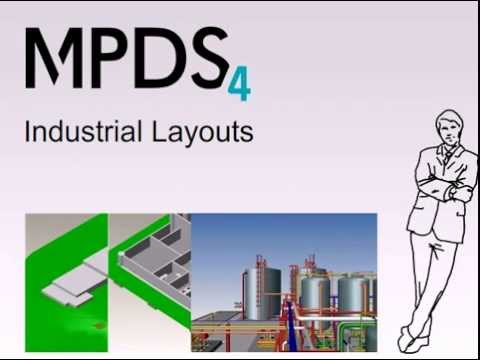 2D-3D Industrial Layouts with MPDS4 Factory Layout