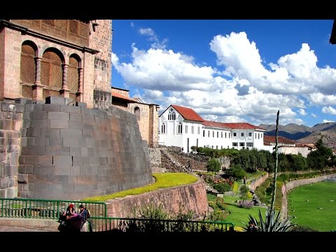 Churches Built On Top Of Inca Temples In Cusco Peru