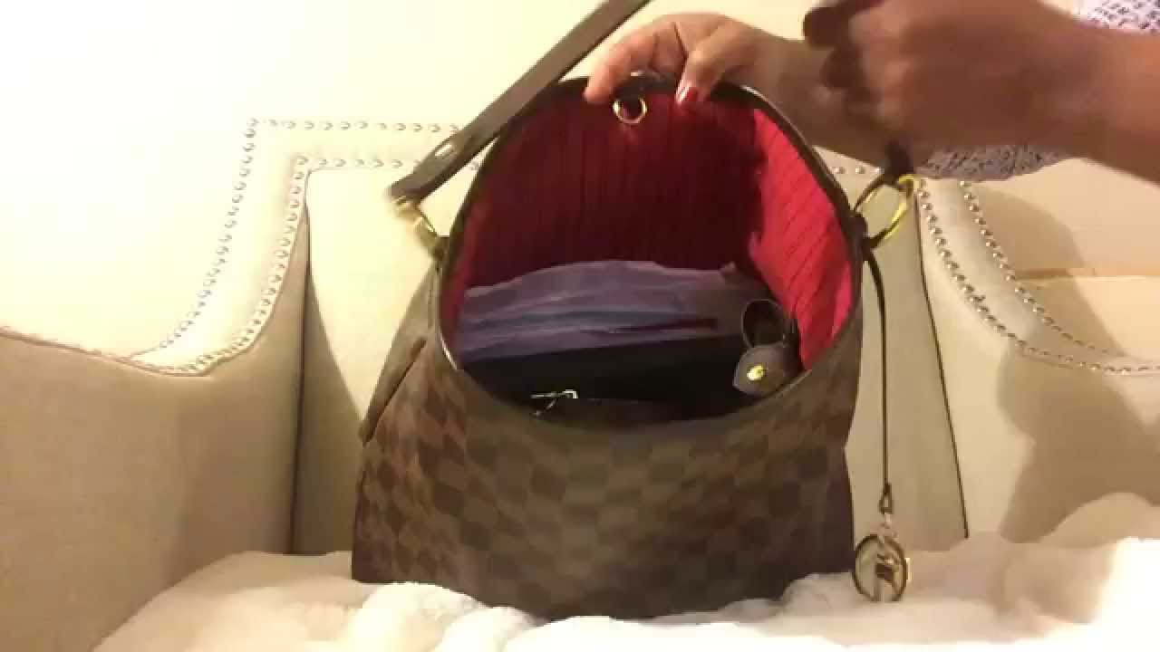 LOUIS VUITTON DELIGHTFUL PM - 6 MONTH REVIEW! - YouTube 7787cdc395208