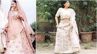I Bought Fake Sabyasachi Outfits | Lehengas & Sarees | Umm Shittiest Clothes Ever? | Shreya Jain