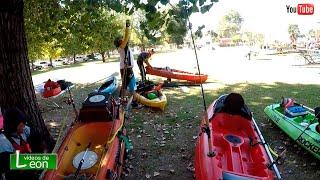 Crece kayak fishing en Buenos Aires