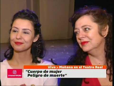 """""""Cuerpo de mujer, peligro de muerte"""" se presenta en el Teatro Real"""