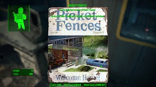 Picket Fences - Weston Water Treatment Plant - Fallout 4