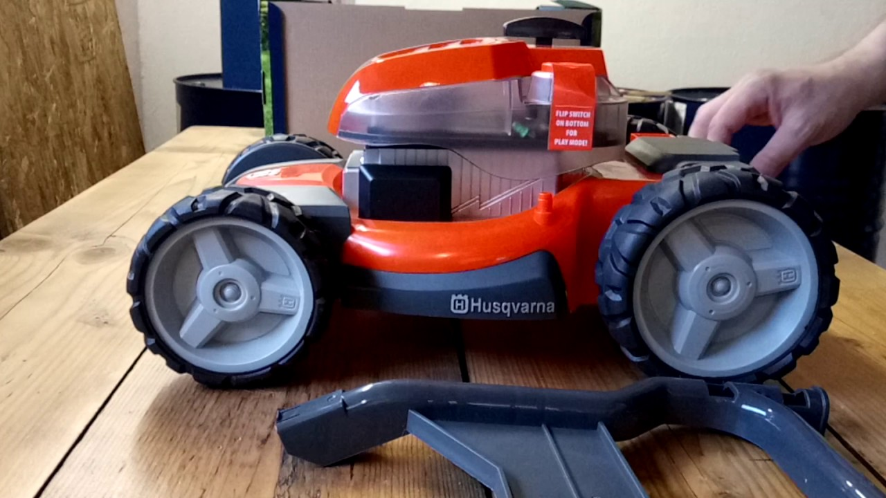 Lawn Mower Kids Real Model Husqvarna Youtube