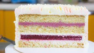 ТОРТ КОКОСОВЫЙ КОРОЛЬ Нежный торт для искушенных сладкоежек Торт с ягодами Рецепт торта и бисквит