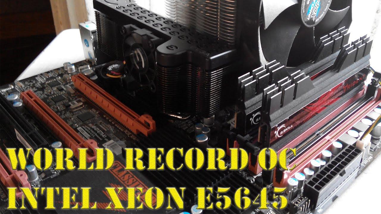 б/у cистемник за 500$, часть 5, World record OC Intel Xeon E5645
