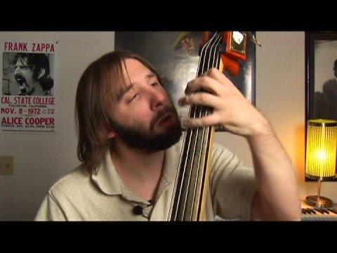 Upright Bass Swing Lessons: Eb Major : Upright Bass F Minor Swing Walk