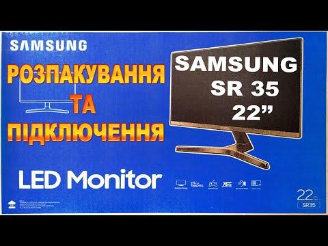 "Монитор 21.5"" Samsung S22R350 Dark Silver (LS22R350FHIXCI)"