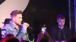 2016 02 02 Adam Lambert Ghost Town Acoustic World Famous Rooftop Perth Australia