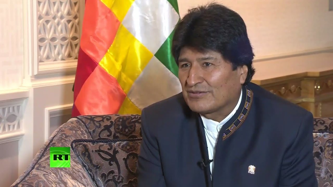 Президент Боливии: Империи вторгаются в другие страны ради контроля над природными ресурсами