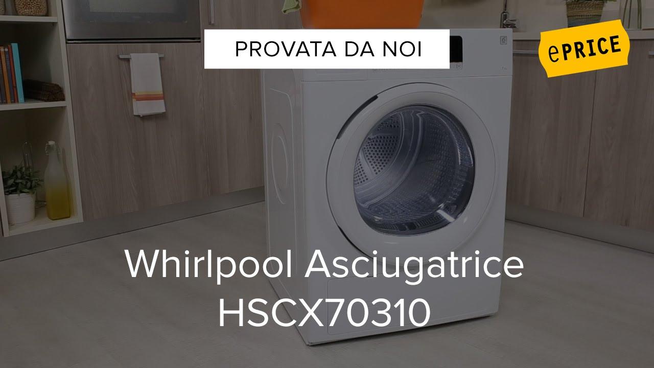 Video recensione asciugatrice whirlpool hscx70310 youtube for Asciugatrice whirlpool opinioni