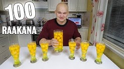 100 Kananmunaa RAAKANA