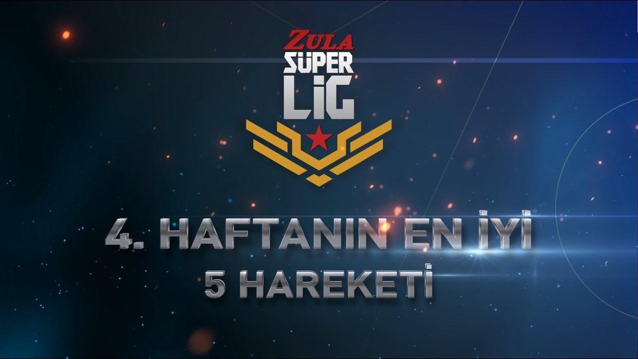 Zula Süper Lig'de 4. Haftanın En İyi 5 Hareketi! Galerisi
