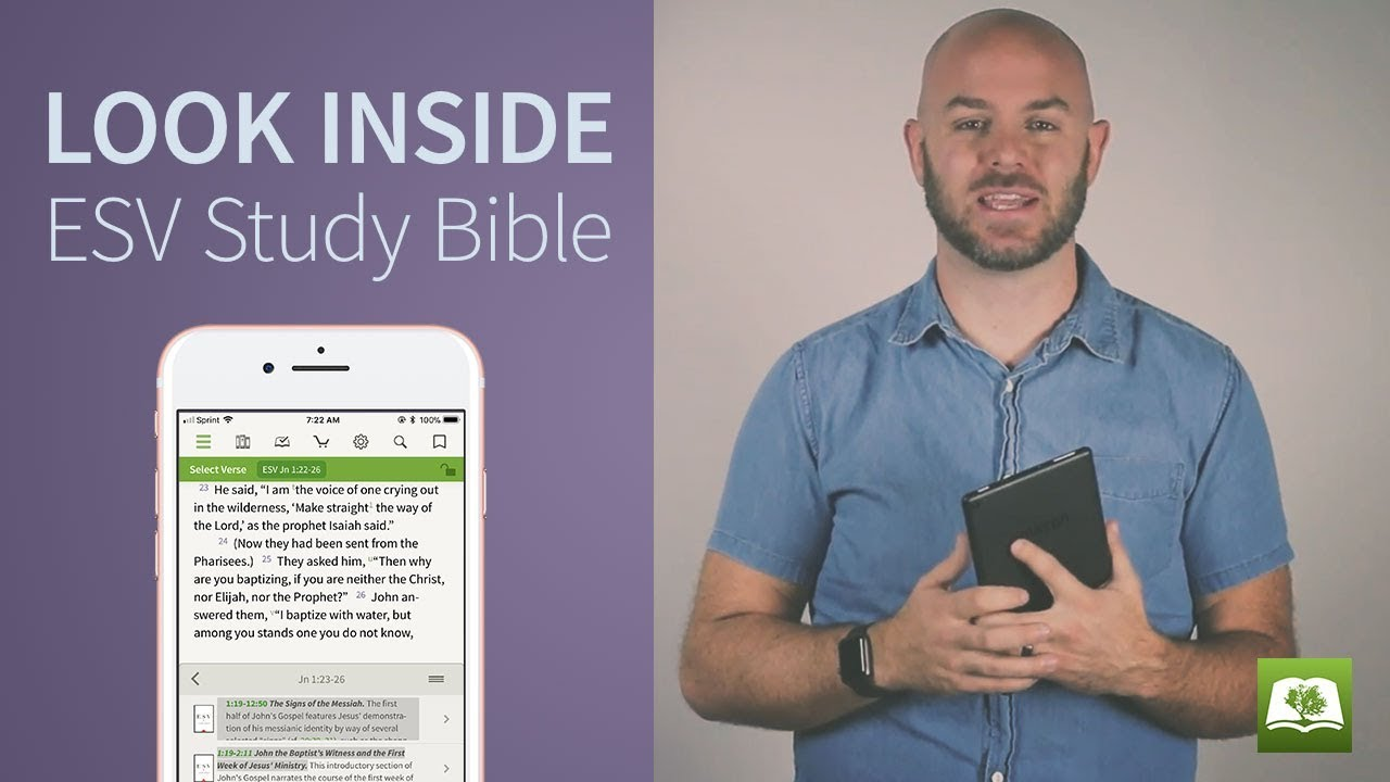 Esv Study Bible For The Olive Tree Bible App On Ipad Iphone - Online Study Bible Esv
