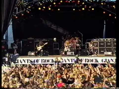 Sepultura live Giants of Rock 1991