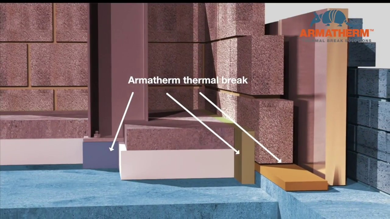 How to reduce thermal bridging through wall-to-foundation transitions with  Armatherm™