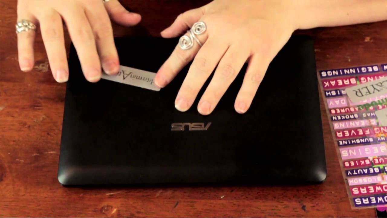 Ways to Decorate Your Laptop With Stickers : Crafts Around ...