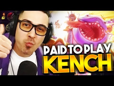 PAID TO PLAY GUTTERED TAHM KENCH!!! - Trick2g