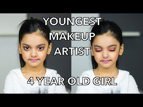 YOUNGEST MAKEUP ARTIST | HUDA BEAUTY PALETTE | AIMALIFESTYLE