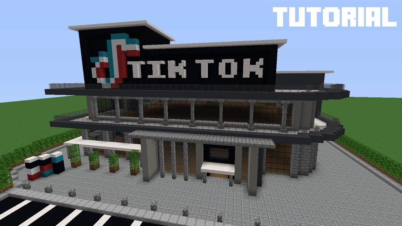Minecraft Tutorial: How To Build TikTok Office (Modern)