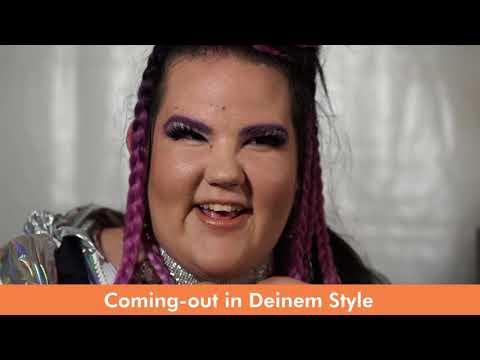Coming out in YOUR style  Statement von Netta winner of ESC 2018