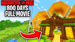 I Survived 800 Days on Hardcore Minecraft And This Is What Happened - Skyes