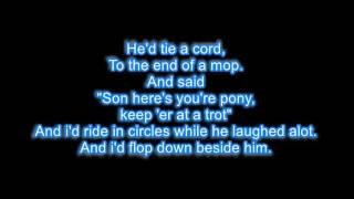 Randy Travis - He walked on water LYRICS