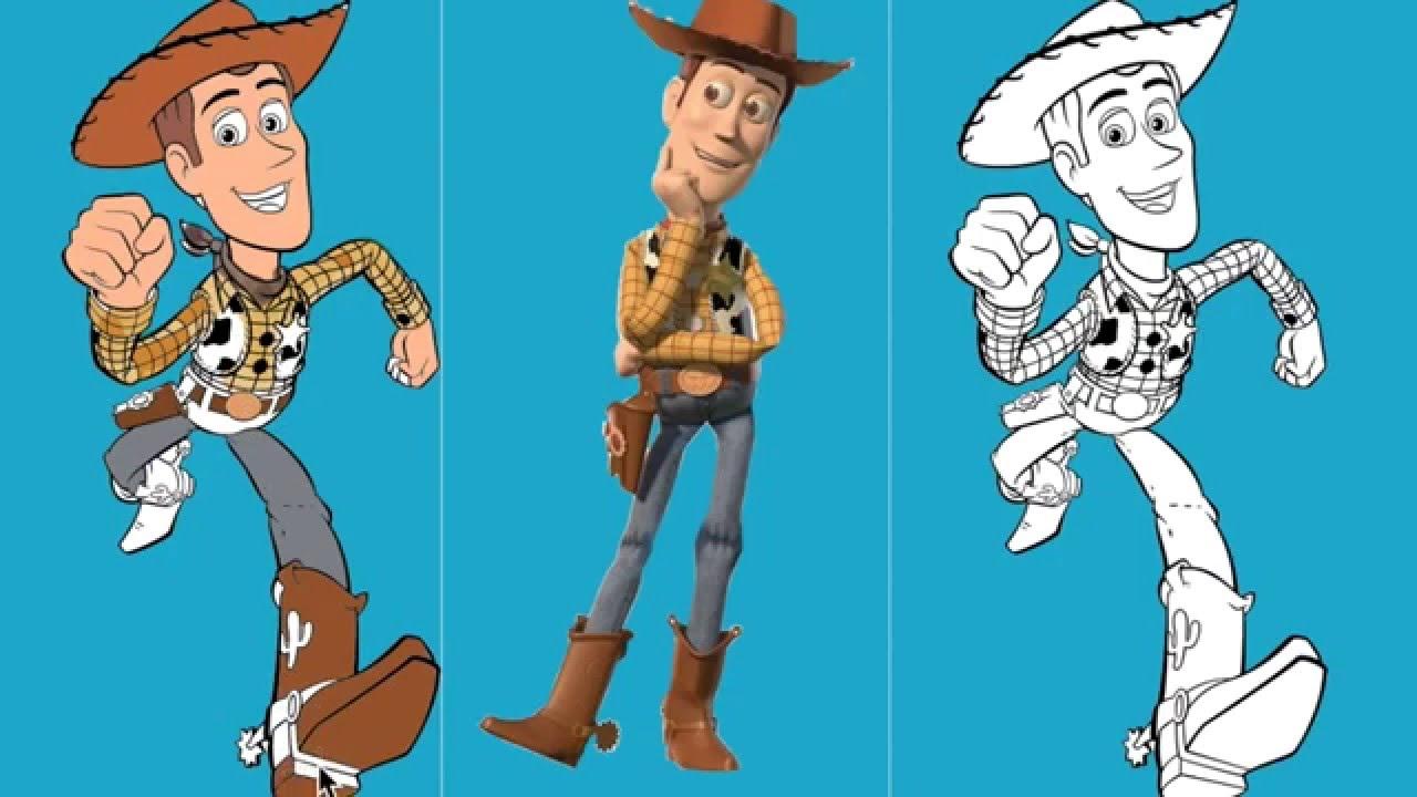 Juego de pintar Toy Story - YouTube
