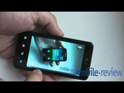 LG Optimus 2x UI Demo