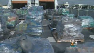 Coast Guard Offloads 26.5 Tons Of Cocaine Seized At Sea