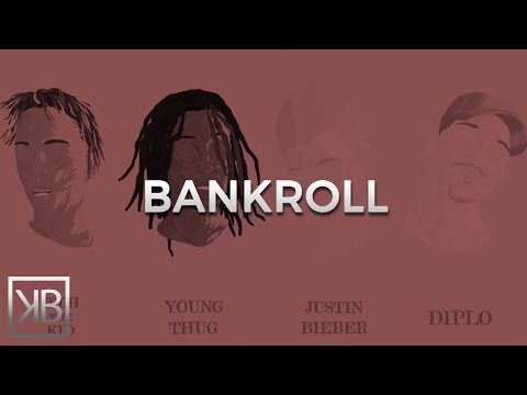 Diplo - Bank Roll Feat. Justin Bieber, Young Thug & Rich The Kid | Type Beat Instrumental Beats