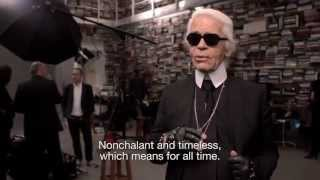 Chanel: The Little Black Jacket Photo Shoot with Karl Lagerfeld and Carine Roitfeld