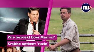In de bladen: Wie bezoekt boer Marnix? | Krabbé lacht om 'ruzie'