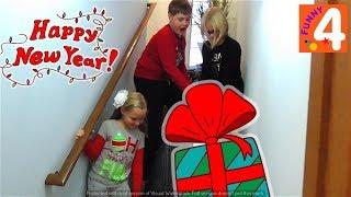 Американские НОВОГОДНИЕ ПОДАРКИ/ Получили Игрушки на Новый Год и Рождество/ Открываем Много игрушек