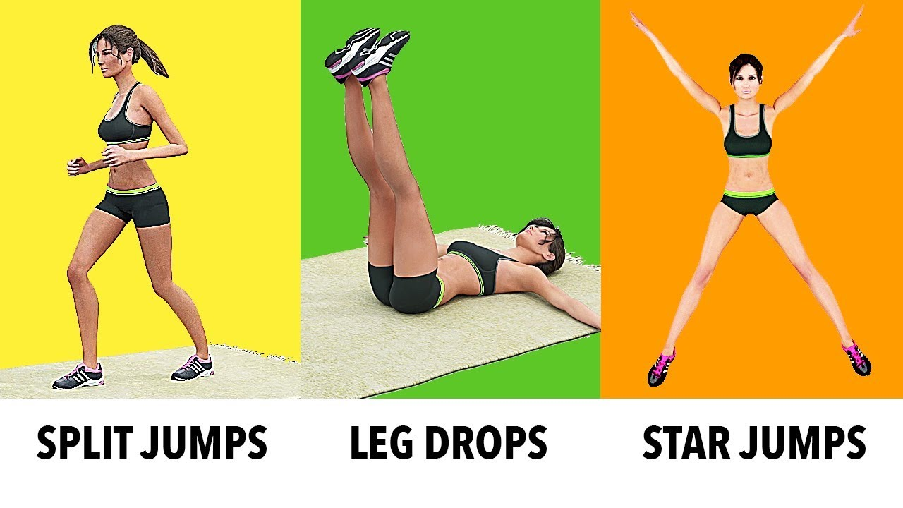 9 Simple Exercises To Lose Weight In 9 Weeks