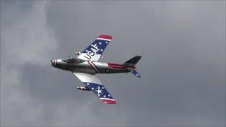 F-86 Skyblazers Demo 2015 Tico Warbird Airshow