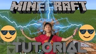 TUTORIAL Membuat Petir Menggunakan Command Block di Minecraft PE