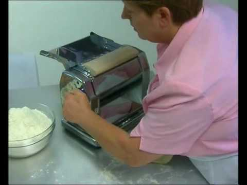Imperia Restaurant Electric Pasta Machine Promo Youtube