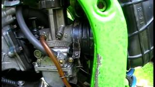 Dirtbike - How To - Ajust Your Idle Screw