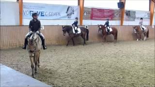 Lia's und Alfi's erster Reiterwettbewerb