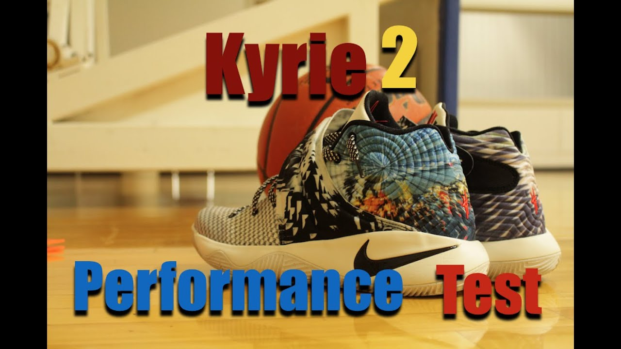 28b0d1a5ed7 NIKE KYRIE 2 PERFORMANCE REVIEW TEST - YouTube
