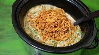 Slow Cooker Green Bean Casserole - Casserole Recipes