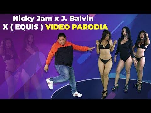 Nicky Jam x J  Balvin  X  EQUIS  video PARODIA  - JR INN