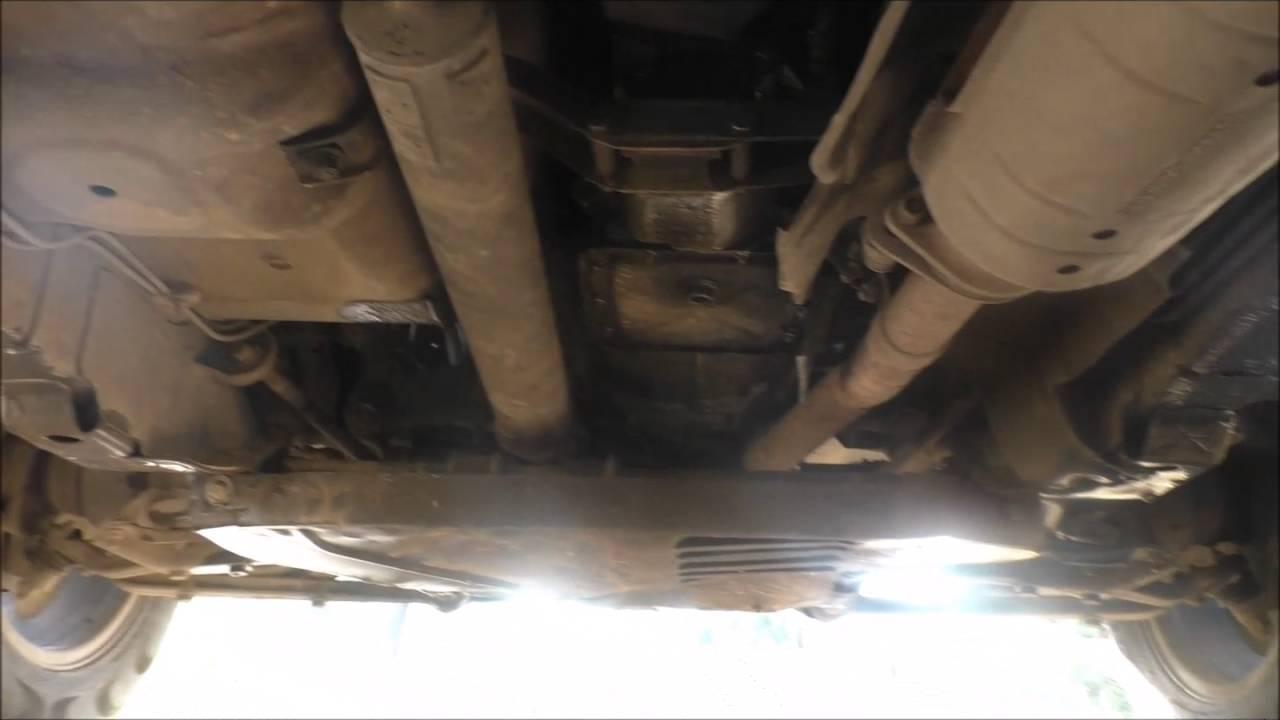Ремонт и обслуживание Шевроле Нива: смотрим, что под днищем