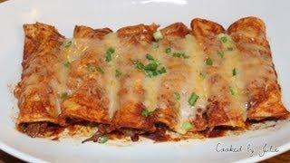 Enchiladas From Scratch