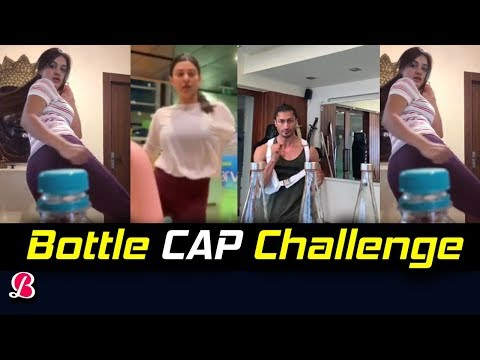 After Sunil Grover & Tiger Shroff Now Vidyut Jammwal And Sushmita Sen's Bottle Cap Challenge Mp3