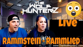 Rammstein - Rammlied (Live from Madison Square Garden) THE WOLF HUNTERZ Reactions