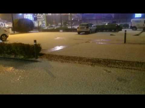 Kälteeinbruch in Spanien.